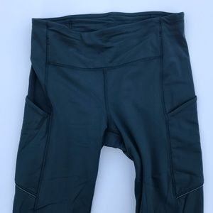 lululemon Speed Up Leggings Size 4 Teal